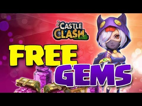 Castle Clash Hack Free Gems For Android&iOS [Castle Clash Cheat]