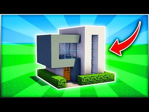 Minecraft : EPIC EASY MODERN HOUSE TUTORIAL  (Ps3/Xbox360/PS4/XboxOne/WiiU)