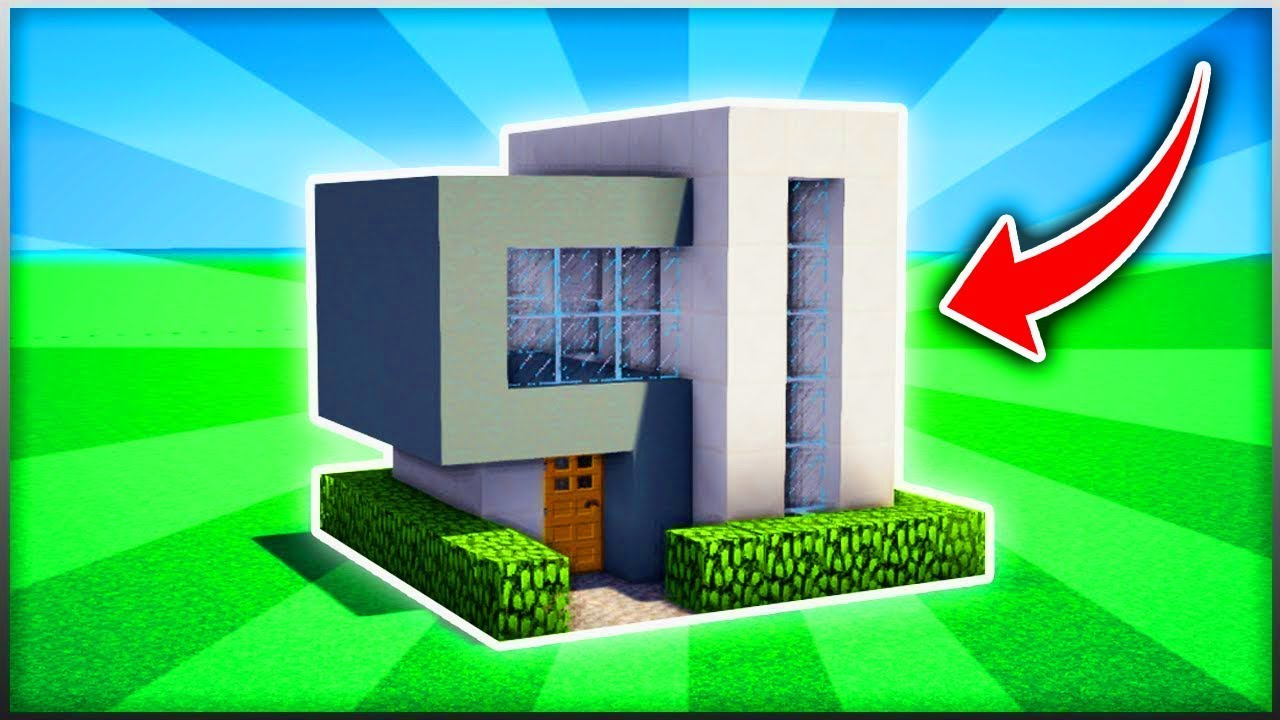 Minecraft Epic Easy Modern House Tutorial Ps3 Xbox360 Ps4 Xboxone Wiiu Youtube