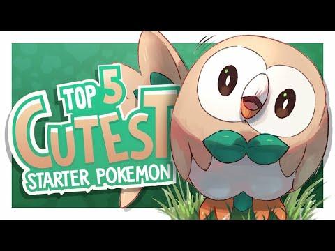 Top 5 Cutest Starter Pokemon w/ Ovi!
