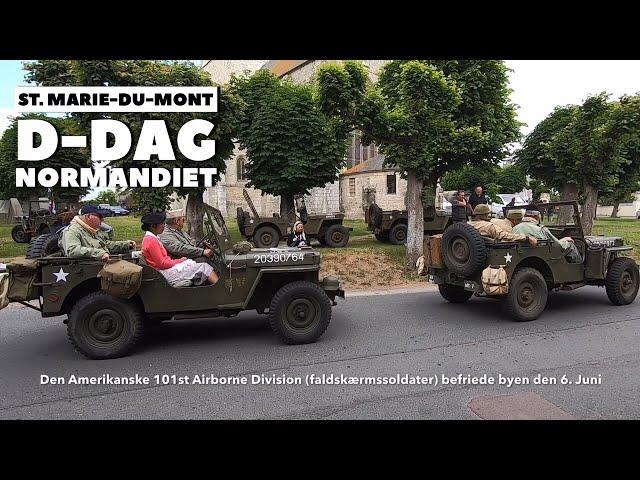 Saint Marie du Mont, D-dag, Normandiet