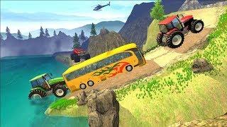 Traktor Lenkung Lenkrad-Spiel | Cartoon - | Traktor-Eimer-Spiel