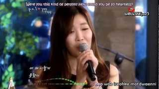 Davichi - Hate You But Love You LIVE [eng sub+kara roman]