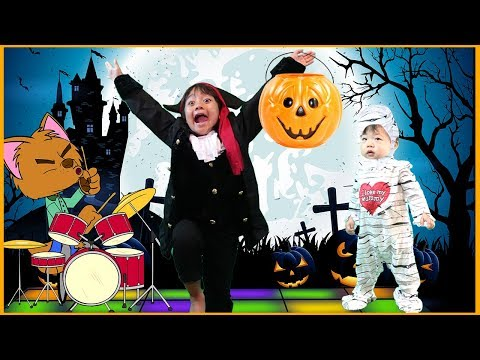 Halloween Songs for Kids, Children, and Toddlers   Sing The Halloween Song Trick or Treat