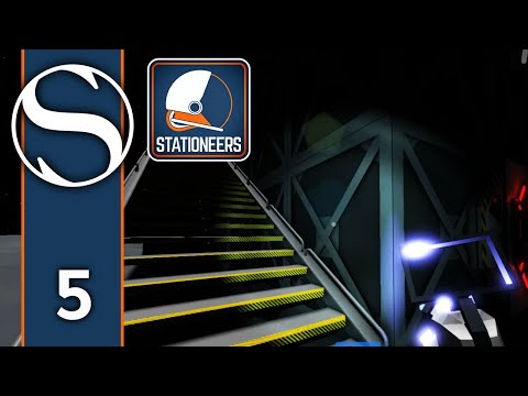#5 Stationeers - Stationeers Gameplay [Getting Some Stairs]