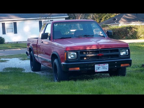 Driving the budget built 5.3 V8 LS powered 1991 Chevy S10. Fast for Cheap!