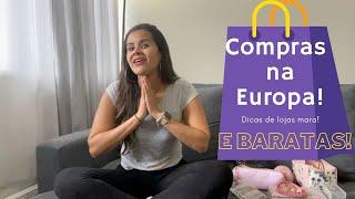 Comprinhas na Europa: Dicas de lojas mara... e BARATAS!