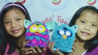Hi! watch Hasbro Furby Boom Favorite Blue Special Edition and 1 Fur...