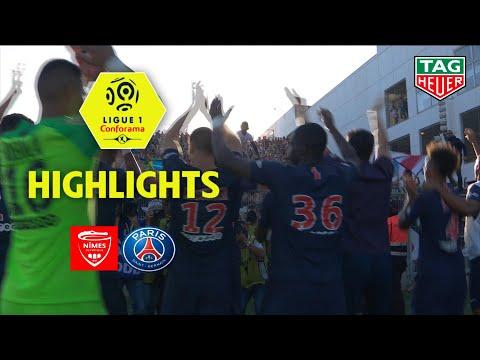 Nîmes Olympique - Paris Saint-Germain ( 2-4 ) - Highlights - (NIMES - PARIS) / 2018-19