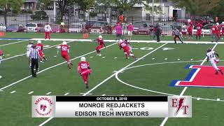 Section V Football Top 10 Plays (Week 6)