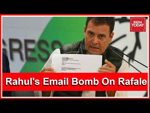 Politics Intensifies Over Rahul Gandhi's Email Bomb On Rafale Row | India First