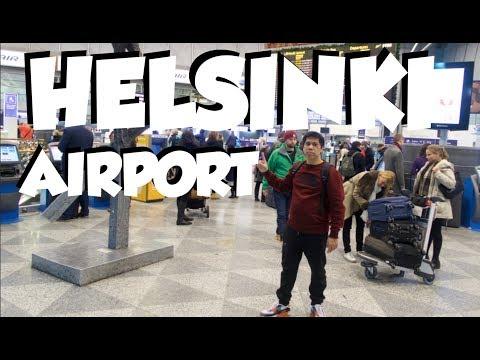 HELSINKI AIRPORT VLOG