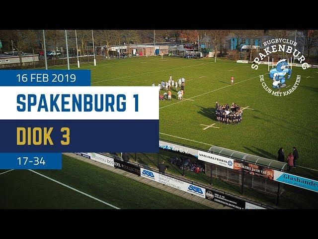RC Spakenburg 1 - Diok 3 | 17-34 | 4K