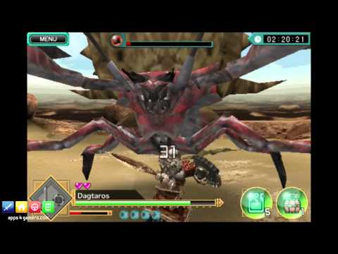 Monster Hunter: Dynamic Hunting (Android/iOS) Gameplay