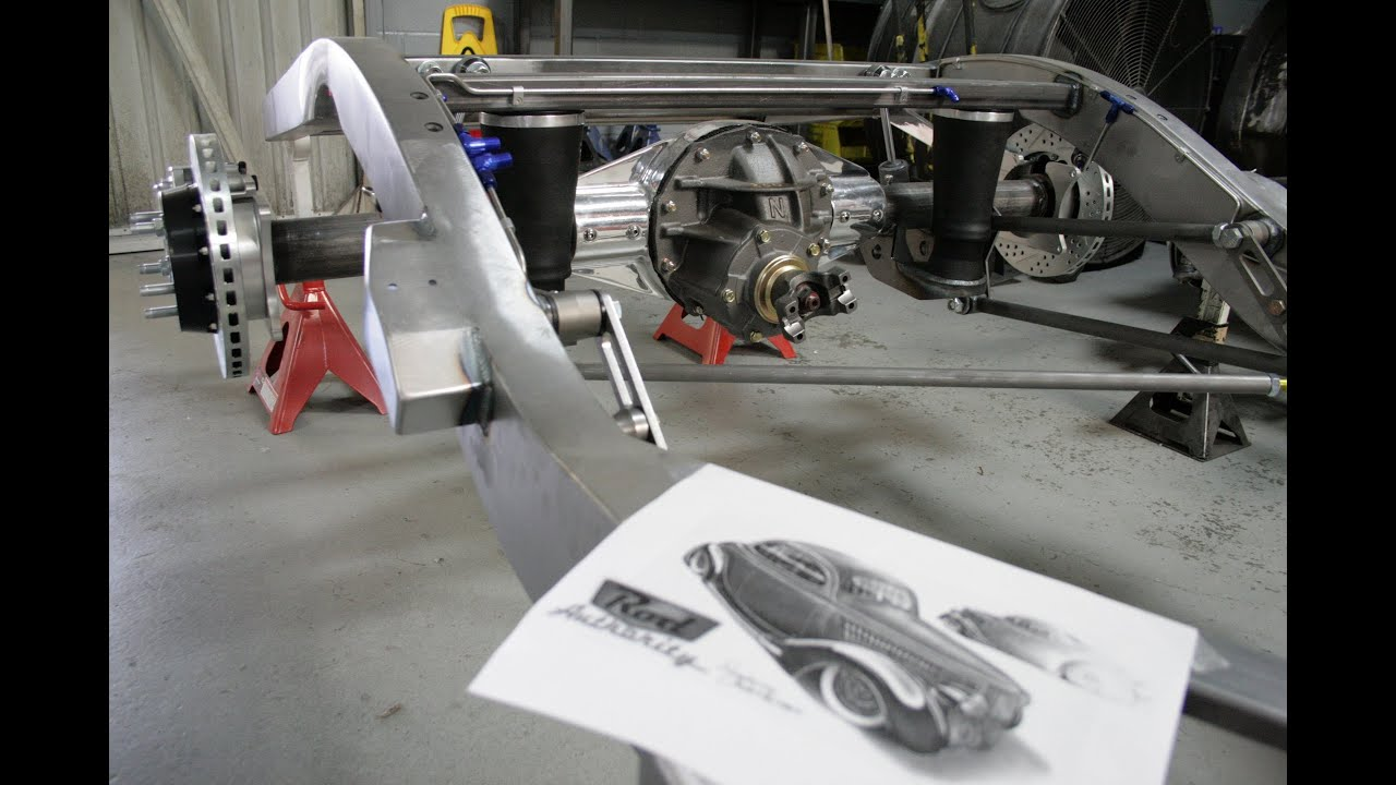 TCI Engineering 1935-1940 Ford chassis build for Rod Authority\'s ...