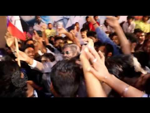 Rajinikanth in Mumbai for Kabali Release - Kabali Live - Kabali Public Appearance
