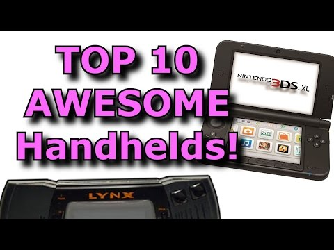 TOP 10 Handheld Game Systems!