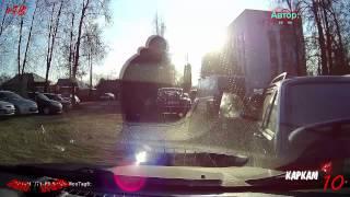 ? Ежедневная подборка ДТП и аварии №452 ( 23 ноября 2014 ) HD18+
