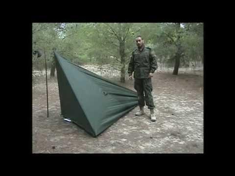 Refugio con tarp