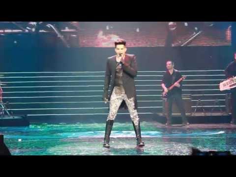 Adam Lambert Live in Macau - Trespassing Naked Love - 2013 Chinese Music Awards
