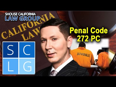 "Penal Code 272 PC – ""Contributing to the Delinquency of a Minor"""