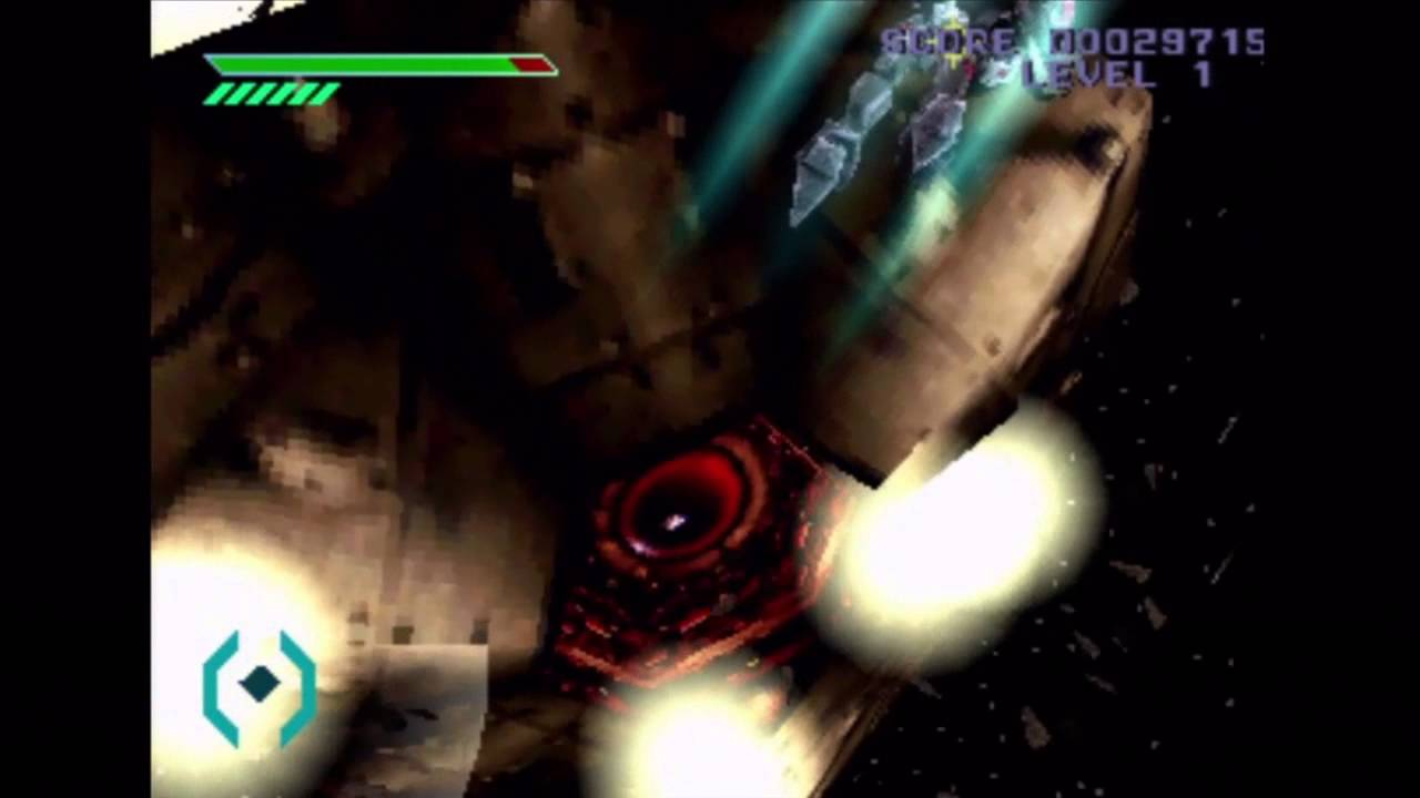 Omega Boost (PS1) Gameplay