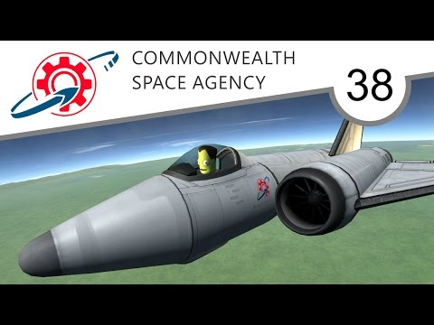 Kerbal Commonwealth Space Agency - 38. Planes, Cranes and Rovermobiles (KSP 1.2.2)