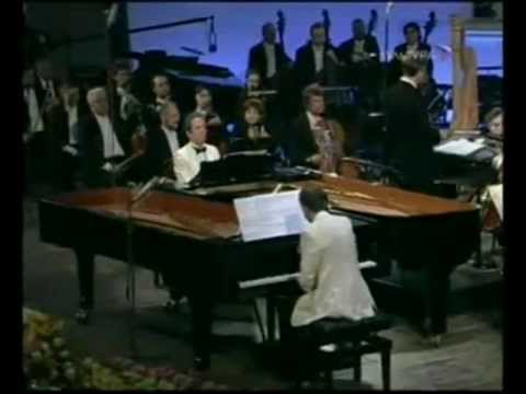Alexander Manz, Michael Manz play Pletnev - Fantasia Helvetica (live in Moscow, 2007)