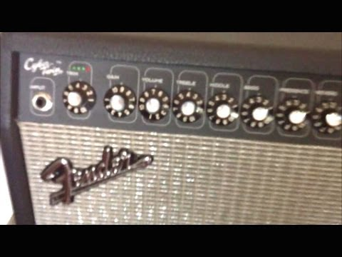 Fender Cyber Twin Guitar Amp Head Automation Features Review
