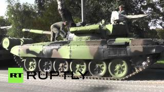 Serbia: Belgrade polishes M-84 tanks ahead of PUTIN visit