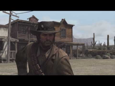 Red Dead Redemption -- How to duel and win