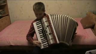 Немецкий танец. Обучение. Аккордеон. Бетховен.