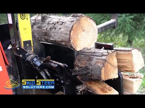 Halverson Wood Processor Product Overview + Field Demo | Skid Steer Solutions