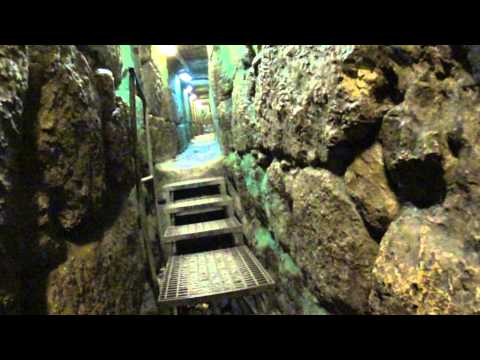 City of David, Jerusalem, Israel - walking from the Siloam Pool to the Temple - built by Herod