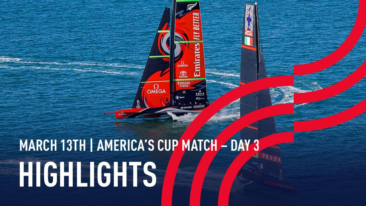 36th America's Cup Day 3 Highlights