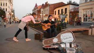 Kyler Mackenzie - Gypsy music on Leningrad Street