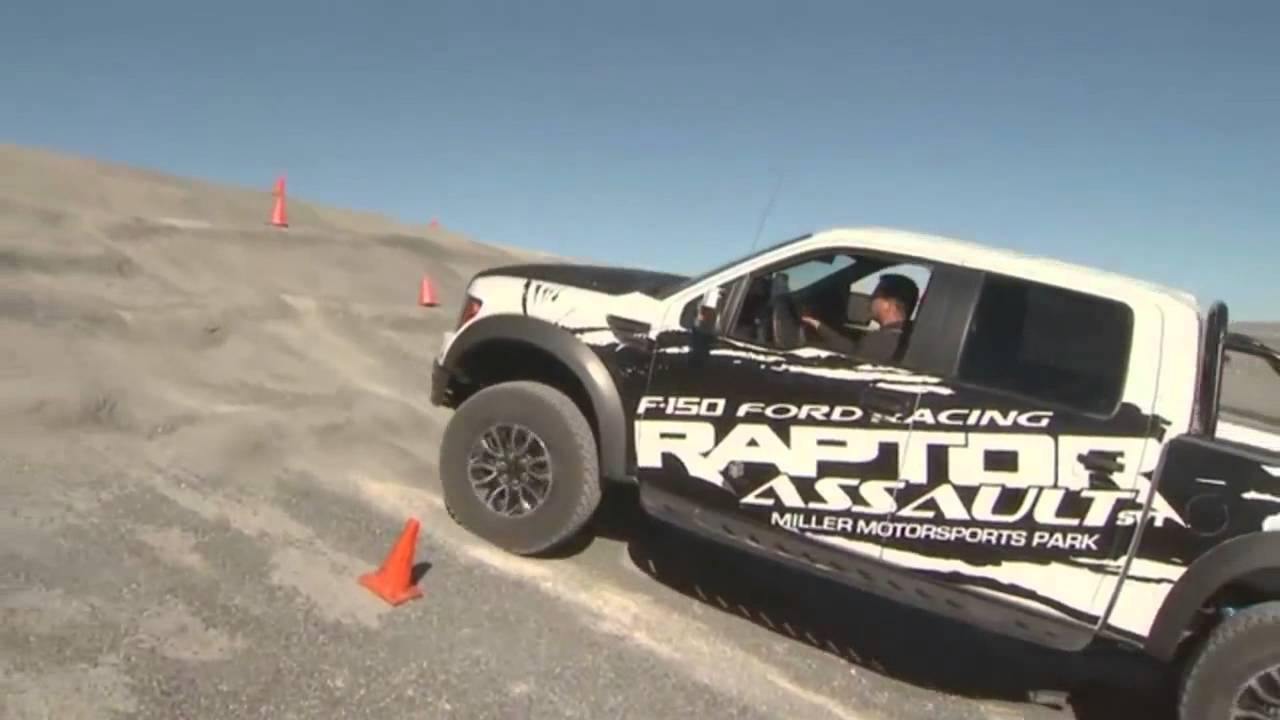 Lafontaine Ford Lansing >> LaFontaine Ford - 2013 Ford F-150 SVT Raptor Assault | Off-road Driving School - Lansing, MI ...