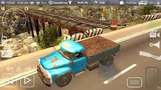 Russian Car Driver ZIL 130 #5 Hard Road Android GamePlay FHD