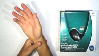 Logitech M570 Trackball - Unboxing and Review - Relief of Wrist pain