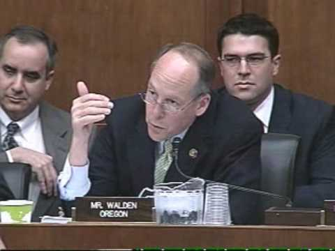 Greg Walden to Vice President Gore: Why exclude biomass from major energy bill?