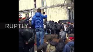 Russia  Anti corruption protest in Vladivostok ends in arrests and scuffles