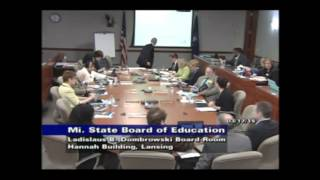State Board of Education Meeting for March 17, 2015 - Morning Session