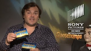 Goosebumps - Real or Not Game with Jack Black & Slappy!