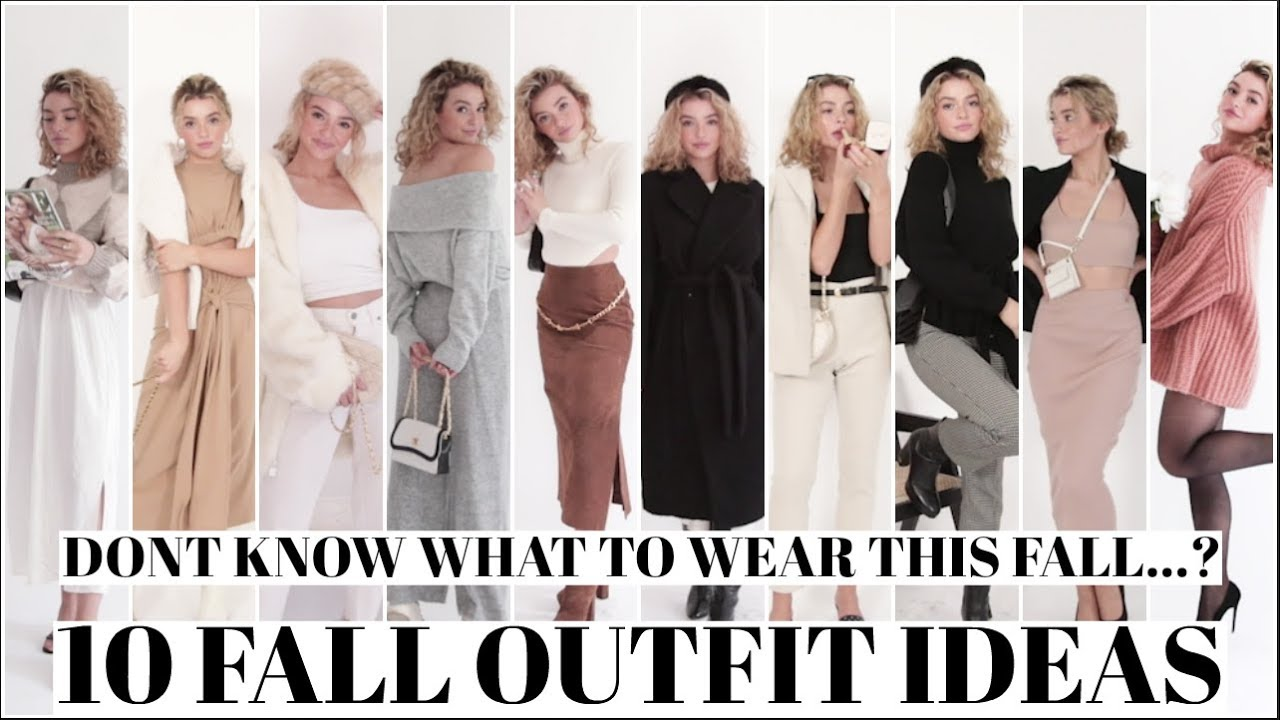 [VIDEO] - 10 FALL OUTFIT IDEAS! What to Wear this Fall 2019! 6