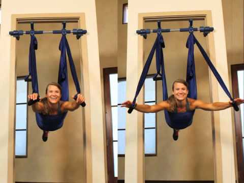 Aerial Yoga Swing And Frame Youtube
