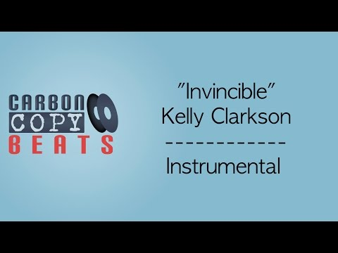 Invincible - Instrumental / Karaoke (In The Style Of Kelly Clarkson)