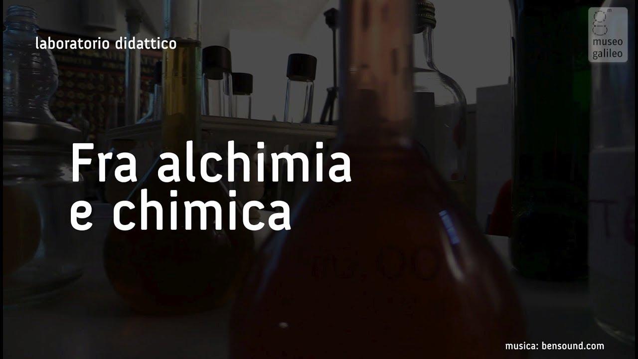 Fra alchimia e chimica