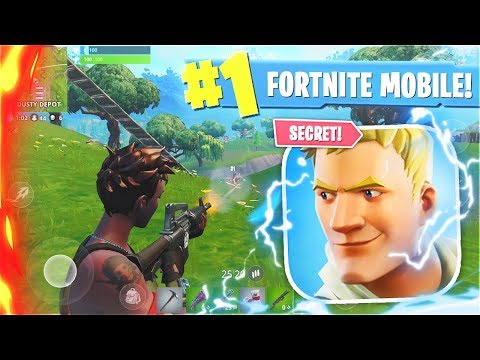 How To Play FORTNITE MOBILE Right Now! New FORTNITE MOBILE Gameplay! (Free Fortnite Mobile)