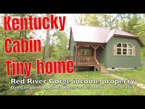 Cabin vacation home rental house for sale Red River Gorge Kentucky KY