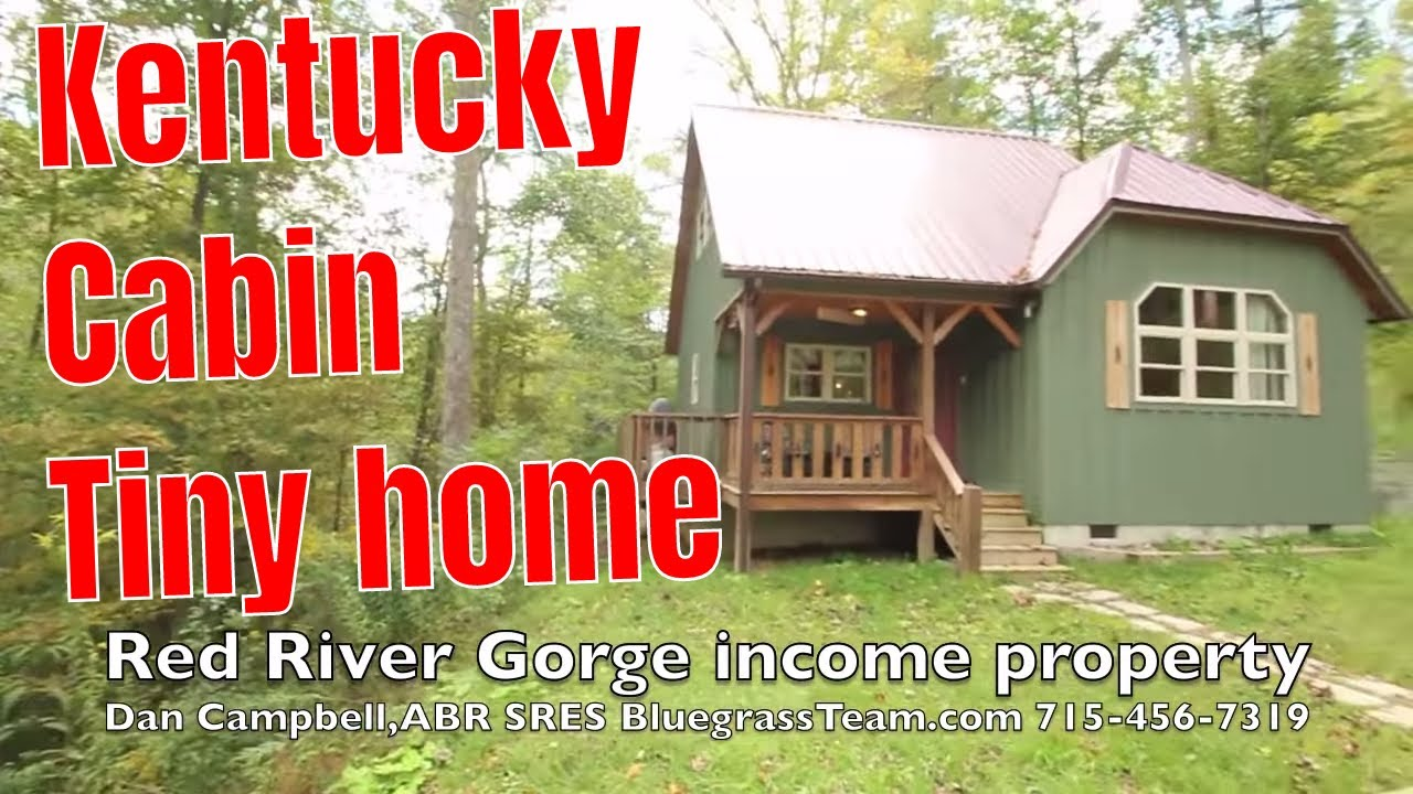 cabin vacation home rental house for sale red river gorge kentucky ky youtube - Small Cabins For Sale